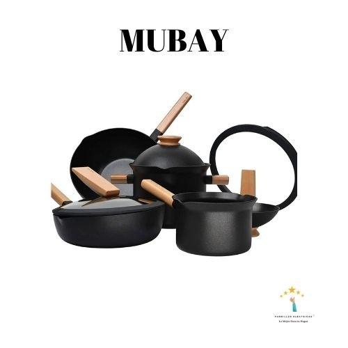 4. MUBAY Batería de Cocina
