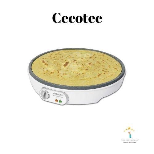 4. Crepera Cecotec - Máquina de crepes
