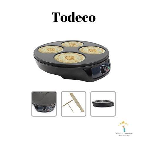 3. Todeco - Creperá Eléctrica | Cocedor de Crepes