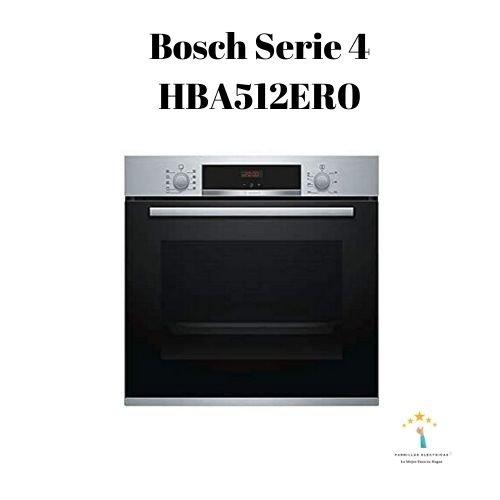 Mejor horno Bosch Serie 4 HBA512ER0