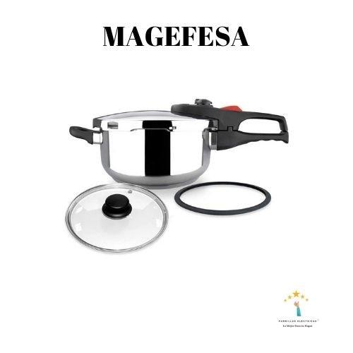 1. Magefesa Practika Plus Trio Un pack de ollas rápidas con dos tamaños a elegir.
