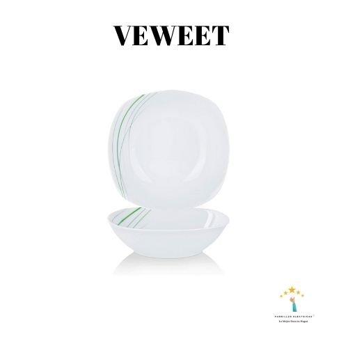 Mejor vajilla moderna Veweet