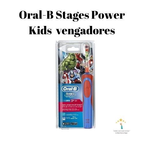 Mejores cepillos de dientes eléctricos de niños Oral-B Stages Power Kids (2)
