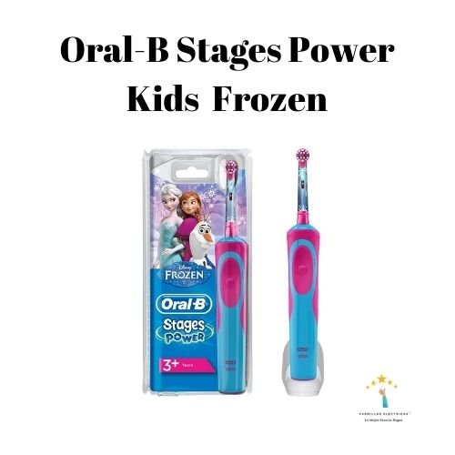 1.Cepillo de dientes eléctrico infantil Oral-B Stages Power con personajes de Frozen