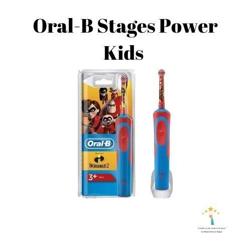 3. Cepillo de dientes eléctrico Oral-B Stages Power Kids Mickey Mouse