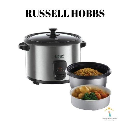 2. Russell Hobbs Cook@Home. Arrocera de cocedor al vapor