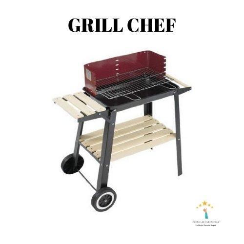barbacoa barata grill chef