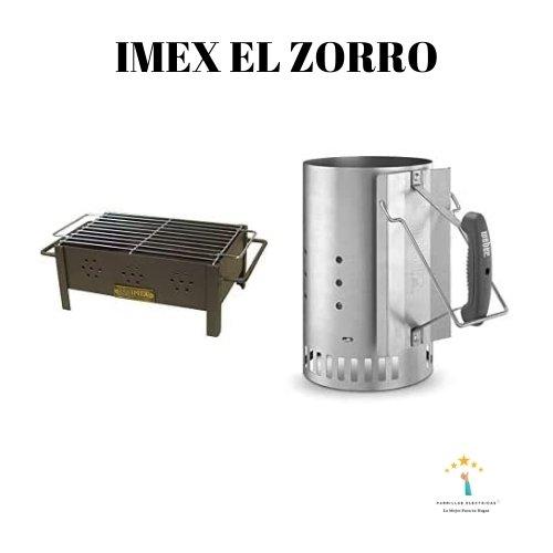 3. Imex El Zorro - barbacoa de carbón y leña