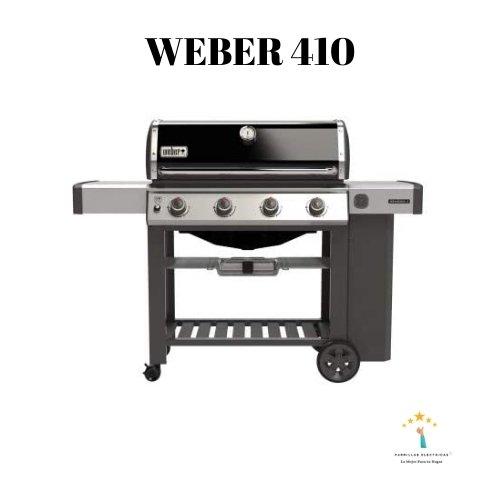 barbacoa de gas weber 410