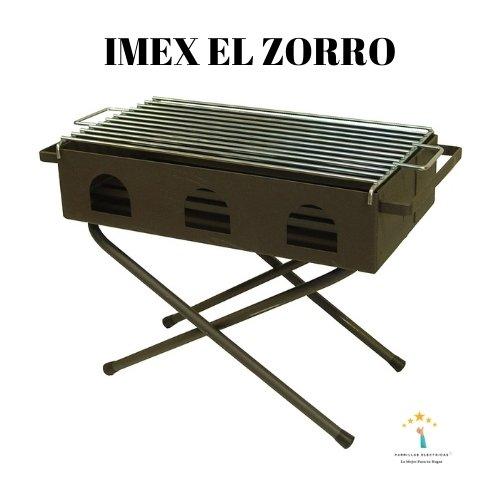 2. Imex El Zorro - parrilla plegable para camping