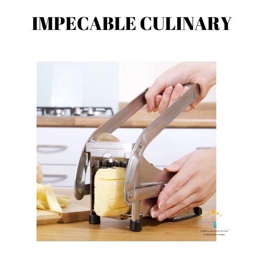 2.  Impeccable cortador de patatas