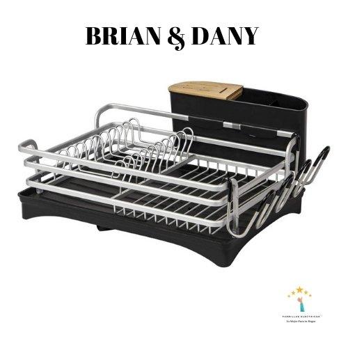 2. Brian & Dany escurridor mejor escurridor de plato