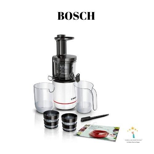 extractor de jugos bosch