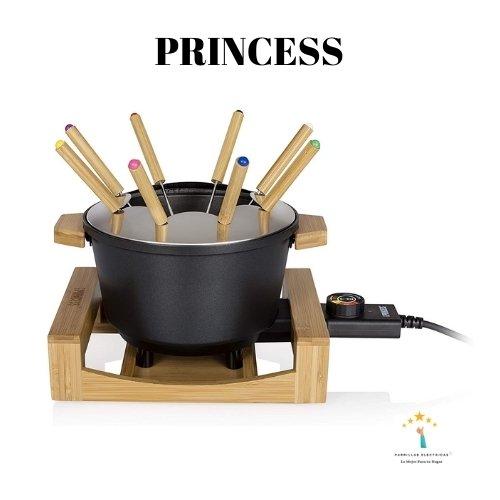 5.Princess Pure Black con estuche - fondue barata