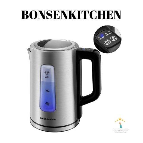5. Bonsenkitchen 1.7L Hervidor de Agua