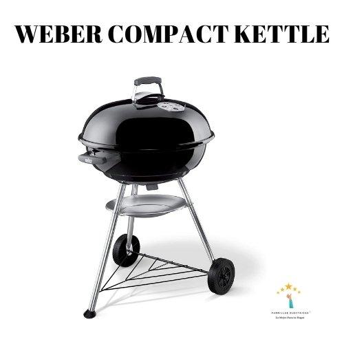3. Barbacoa Weber Compact Kettle