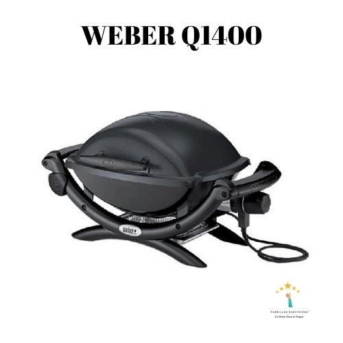 2. Barbacoa Weber Q1400 Gris Oscuro