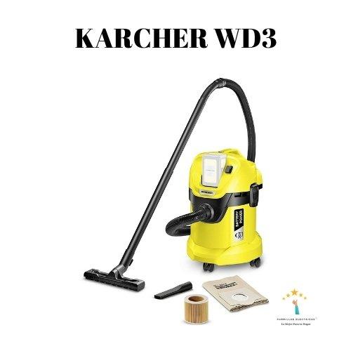 2. Aspiradoras Karcher para el hogar WD 3