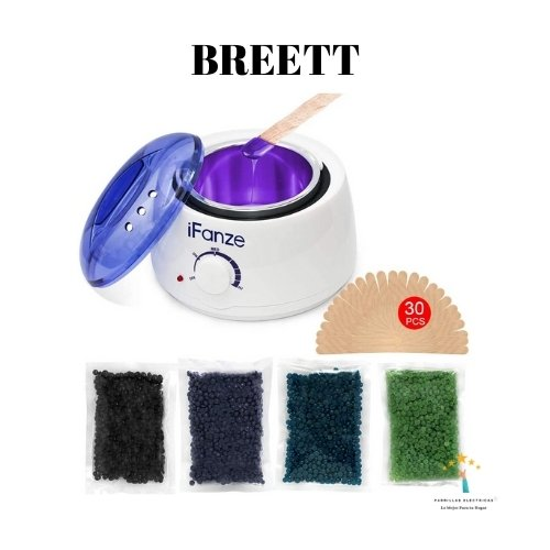 máquinas depiladora de cera breett