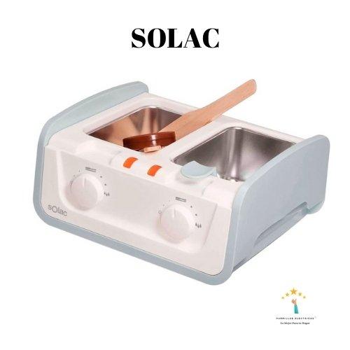 2. Solac - máquinas de cera para depilar