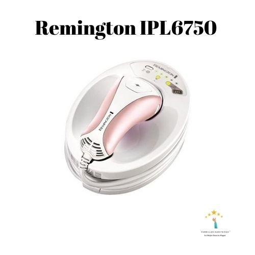 4. DEPILADORA REMINGTON IPL6750 I-LIGHT PRESTIGE
