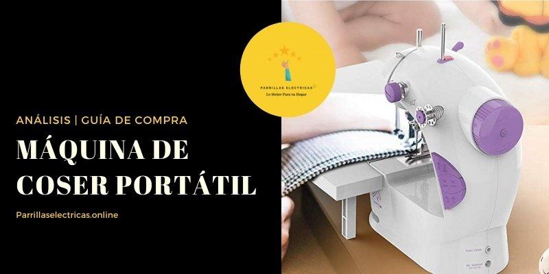 mejores máquina de coser portátil