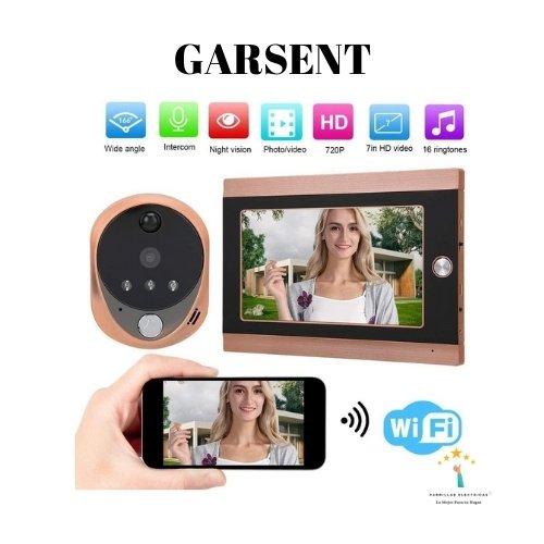 4. Garsent - mirilla digital wifi sin timbre