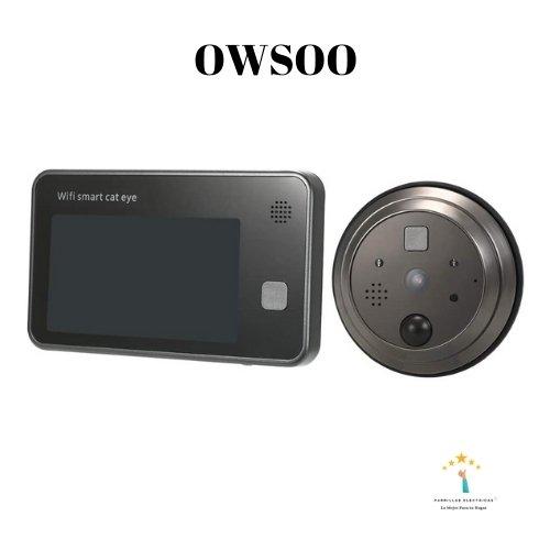 2. Mirilla digital wifi Owson - mejor mirilla digital wifi