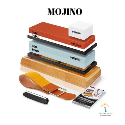 5. Afilador de cuchillos de diamante de doble grano- Mojino