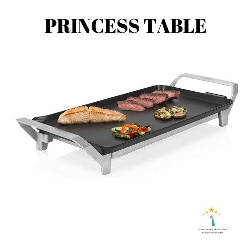 plancha princess table