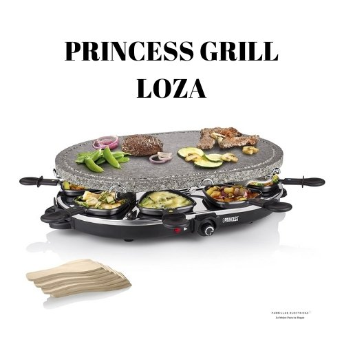 5. Princess 162720 - mejor raclette del mercado
