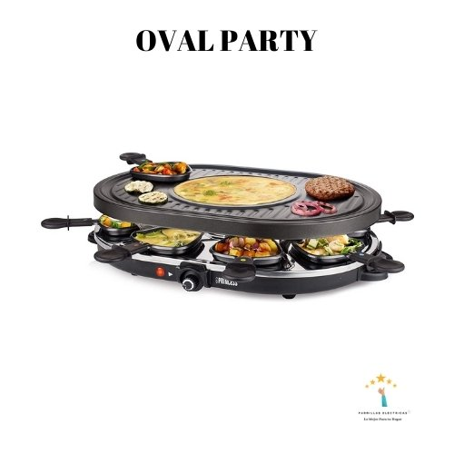 raclette princess oval party