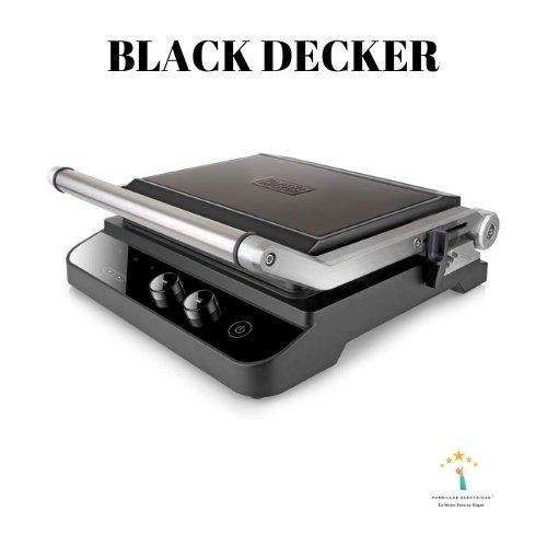 5. Black+Decker Electric Grill - plancha sandwichera