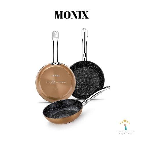 2. Sartén de inducción Monix - sarten inducción calidad precio