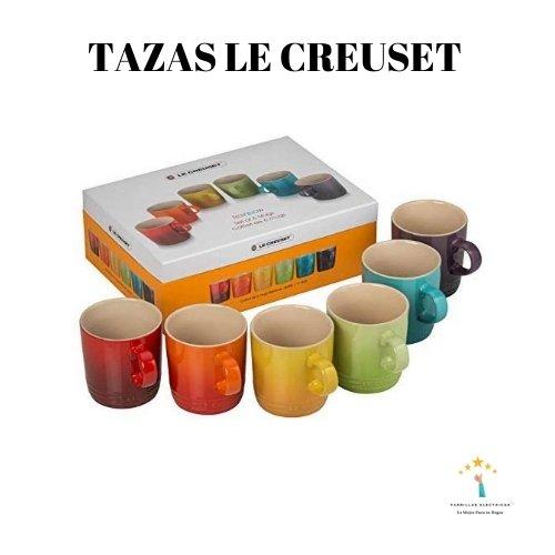 5. Tazas Le Creuset - La mejor cacerola de Le Creuset