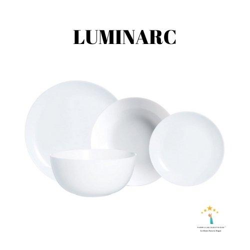 4. Luminarc Vajilla redonda
