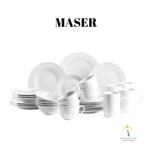 5. Mäser Domestic - vajillas modernas completas