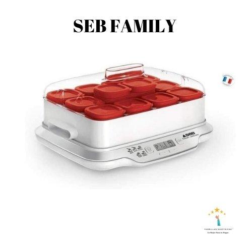 1. Yogurtera marca Seb Family - yogurtera temperatura regulable
