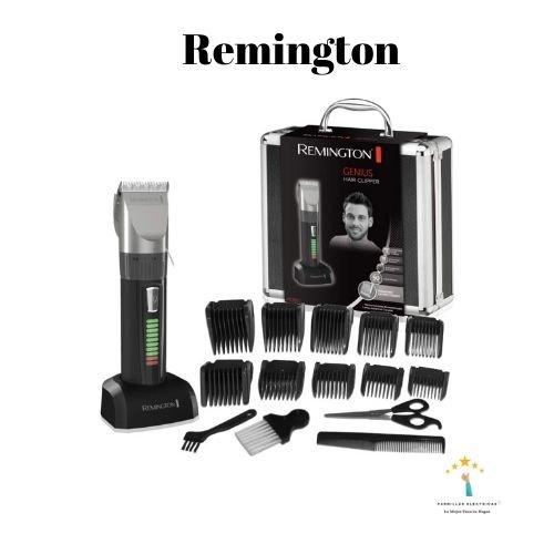 1. Remington - mejor cortapelos doméstico