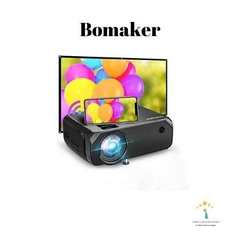2. Bomaker proyectores pequeños portátiles