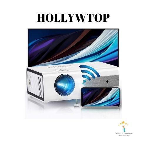 3. Proyector portátil Hollywtop
