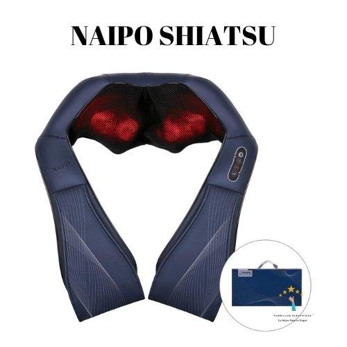 3. Masajeador Naipo Edición Especial - masajeador eléctrico cervical