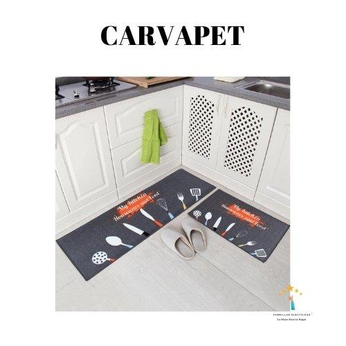 4.  Alfombra de cocina Carvapet