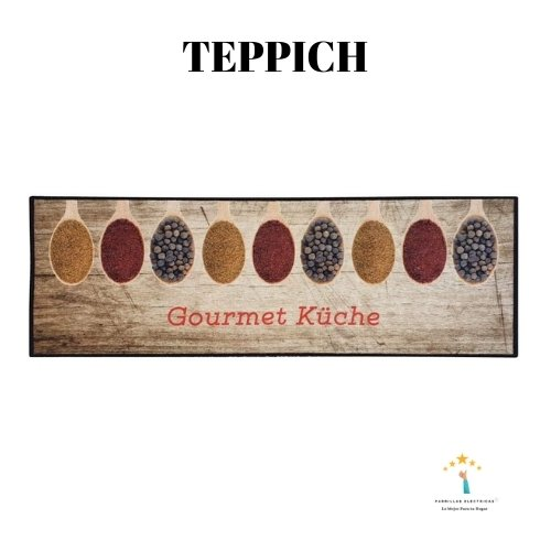 5.  Teppich Boss alfombra de cocina
