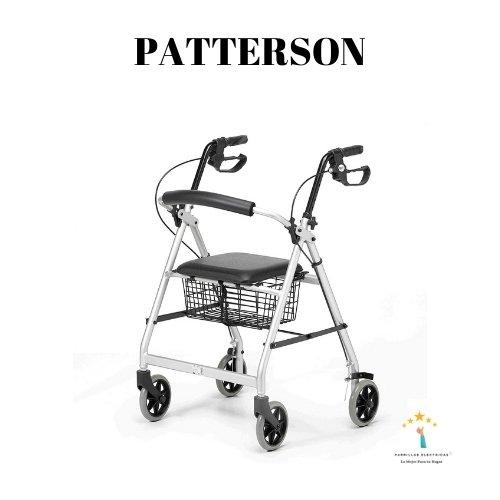 5. Patterson Medical Andador Ligero con Ruedas