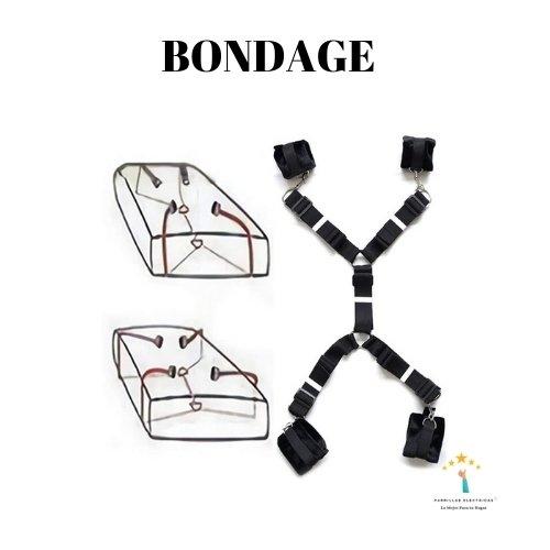 3. Bondage arnés sexual mujer