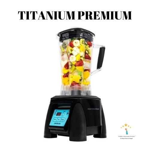 2. Cecotec 04050 Power Titanium Premium - batidora vaso