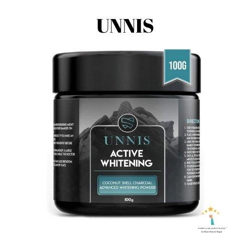 3. Blanqueador dental de carbón activo Unnis