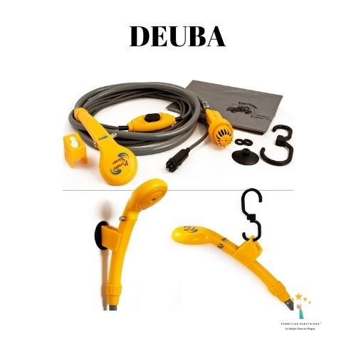 2. Deuba - ducha portátil con batería