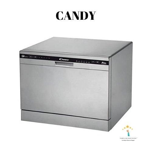 3. Mini Lavavajillas Candy CDCP 6/E-S  - lavavajillas compacto sobremesa